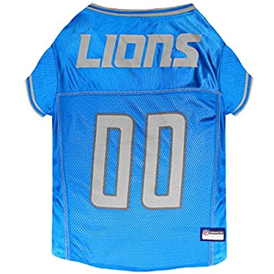 NFL DETROIT LIONS DOG Jersey, X-Large