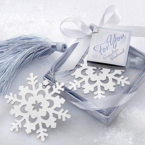 FidgetFidget Snowflake Bookmarks Shape Birthday Party Favors Wedding Wedding Souvenirs 20pcs
