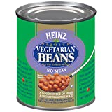 Heinz Vegetarian Beans in Rich Tomato Sauce (8 oz Cans, Pack of 24)...
