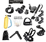 Best Action Cameras - Yantralay 15 in 1 Gopro Accessories Kit Review