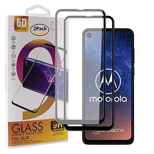Guran [2 Pezzi Pellicola Vetro Temperato per Motorola One Vision (6.3pollice) Smartphone Copertura...