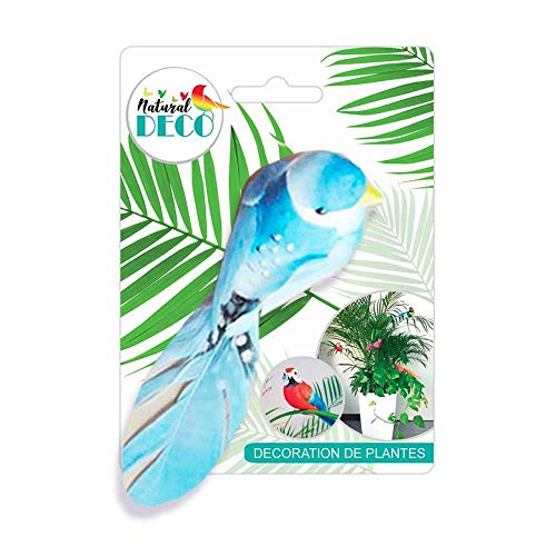 STC Déco Plantes – Petit Oiseau Bleu CD3831