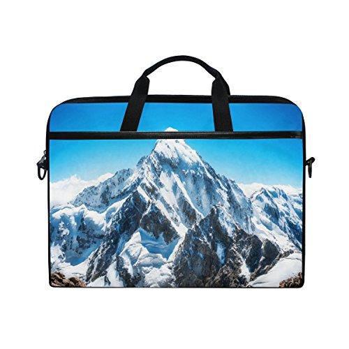 JSTEL Mountain Peak Everest Laptop Shoulder Messenger Bag Case Sleeve for...