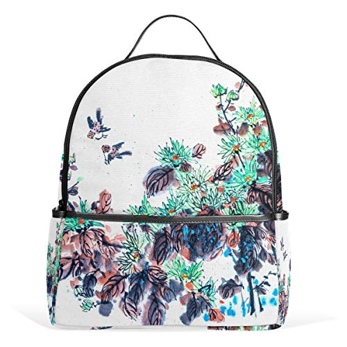 LORONA Zeichnung Spezielle Grafiktradition Festival Spring School Rucksack Büchertasche für Jungen, Mädchen und Kinder