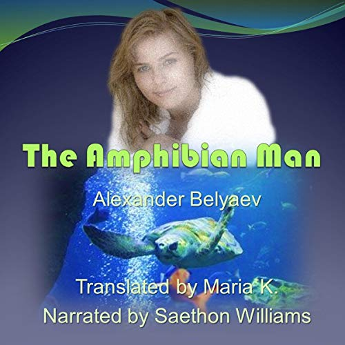 The Amphibian Man audiobook cover art