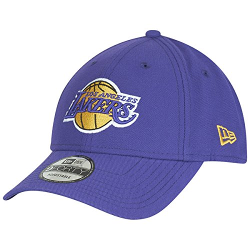 New Era 9Forty Adjustable Curve Cap ~ Los Angeles Lakers