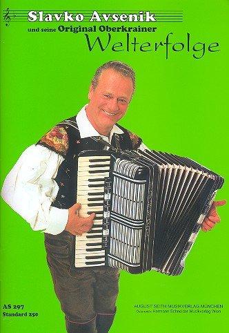 Slavko Avsenik und seine Original Oberkrainer - Welterfolge (hellgrün1) : für Akkordeon