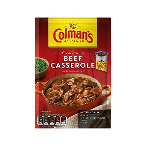 牛肉鍋レシピミックス40グラム (Colman's) (x 2) - Colman's Beef Casserole Recipe Mix 40g (Pack of 2)