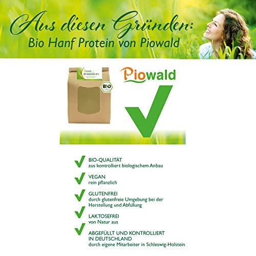 BIO Hanfprotein – 1 kg Vorratspack - 2