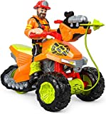 Fisher-Price Rescue Heroes Forrest Fuego & Fire Tracker, Vehicle and Figure Set