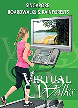 Treadmill Video Singapore Boardwalks for indoor walking treadmill and cycling workouts