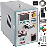 Mophorn 797DH Pulse Spot Welder 0.2mm Battery Welding Machine 110V Battery Spot Welder & Soldering Station Portable Pulse Welding Machine For Battery Pack 18650 14500 Lithium Batteries