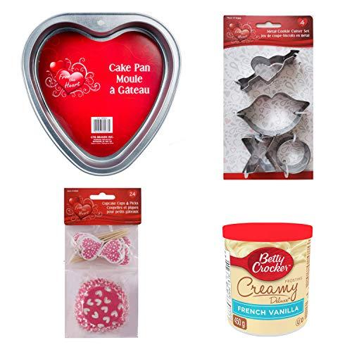 Fun Valentines Day Baking Set