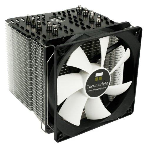 TR Macho 120 Rev. A Multiple Heatpipe Kühler für Intel LGA 775/1366/1156/1155/2011/1150 und AMD AM2/AM2+/AM3/AM3+/FM1/FM2 CPUs, 120 mm PWM Lüfter (600 - 1.300 U/min, max. 25,4 dBa, max. 78,5 m³/h)
