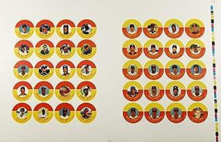 1992 JKA Baseball Card Disc Uncut Sheet of 40 ^ Ryan ^ Sandberg Biggio Ripken Jr