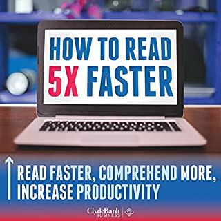 Speed Reading: How to Read 5X Faster cover art