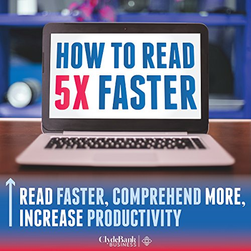 Speed Reading: How to Read 5X Faster audiobook cover art
