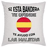 KRISSY Si Esta Bandera Te Ofende Te Ayudo con Las Maletas Almohada Pillow