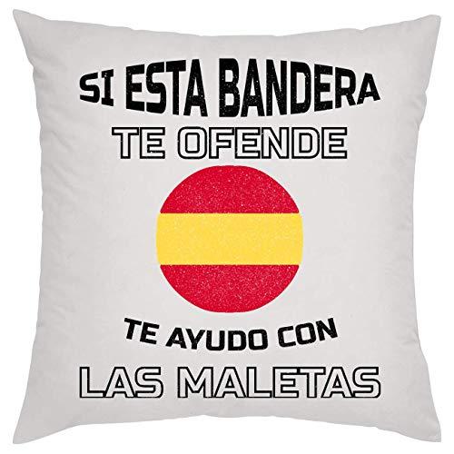 SI Esta Bandera Te Ofende Te Ayudo Con Las Maletas Kissen Pillow