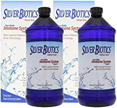 American Biotech Labs Silver Biotics Immune System Support Multi Pack, 32 Fl Oz (Pack of 2)