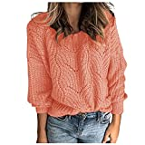 Hemlock Women Winter Knitted Sweater Turtleneck Cropped Sweater Coat High Collar Outerwear Pullovers (S, Pink)