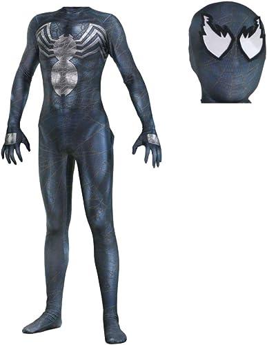 Las ventas en línea ahorran un 70%. XINFUKL Venom Spiderman Costume Halloween Cosplay Medias Fiesta De Disfraces Disfraces Disfraces Fiesta,A2-S  Venta en línea precio bajo descuento