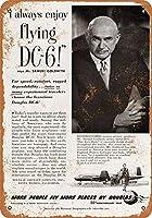 ダグラスDC-6コレクティブルウォールアートのための1950年サミュエルゴールドウィン