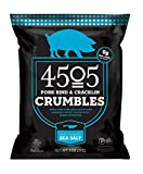 4505 Meats Sea Salt Pork Crumbs Pork Panko Breadcrumbs Made from Pork Rinds and Cracklins, Certified Keto, Salted 11 Ounce, 22 Servings