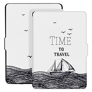 Ayotu Estuche de Colores para Kindle Paperwhite-Se Adapta a Todas Las Generaciones de Paperwhite anteriores a 2018(No se Ajusta a la 10ª generación de Paperwhite K5-09 The Time To Travel