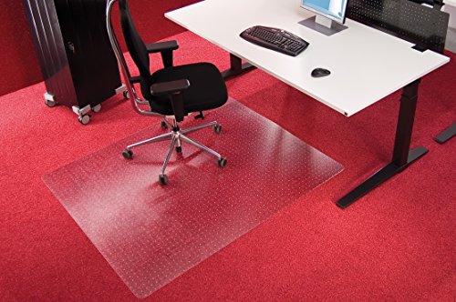 mat voor onder bureaustoel ikea