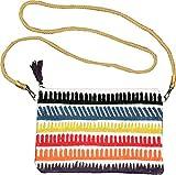 Bolso loneta 100% algodón,con bordado multicolor,firma'Devota &Lomba',Colección'PUNTA CANA'.Tamaño: 29 X 19 cms.En estuche de regalo'Devota &Lomba'