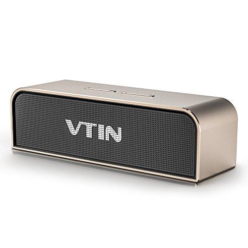 VicTsing Altavoz Bluetooth Ducha Impermeable, radio FM y pantalla LCD digital,...