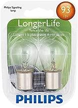Philips 93 LongerLife Miniature Bulb, 2 Pack