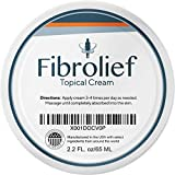 Fibrolief: Topical Cream - Natural Nerve, Joint and Muscle Pain Relief Support - 2.2 Ounce Jar - Maximum Strength with Proprietary Blend of Capsicum, Camphor and Sunflower Seed Oil - Absorbs Fast