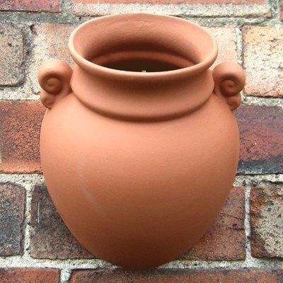 Vaso urna da muro terracotta