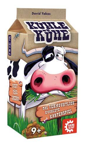 Game Factory 646229 Kuhle Kühe - Das vermuuhtlichst kuuhlste Kartenspiel, Familienspiel, mehrfarbig