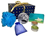 Bath bomb gift set for men - Beautifully gift wrapped bath set gift for men by Mckenzie Creative - Bath bombs for men - Mens gift set - Gift set for men