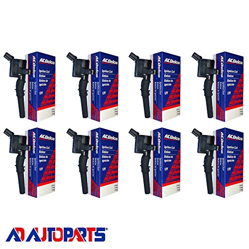 Set of 8 OEM Ignition Coils For 1997-2017 Ford Lincoln Mercury Compatible with 19239827