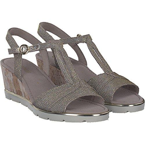 Gabor dames sandalen 85-752-62 752-62 zilver 441707