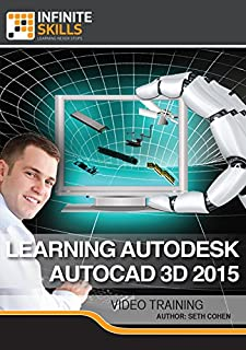 Learning Autodesk AutoCAD 3D 2015 [Online Code]