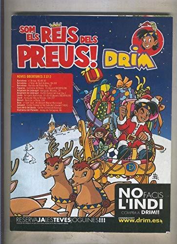 Juguetes Drim catalogo diciembre 2012