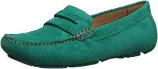 green driving shoes