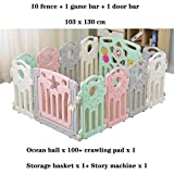 Baby Playpens Fencing, for Children Kids Activity Gear Environmental Protection Barrier Game Safety