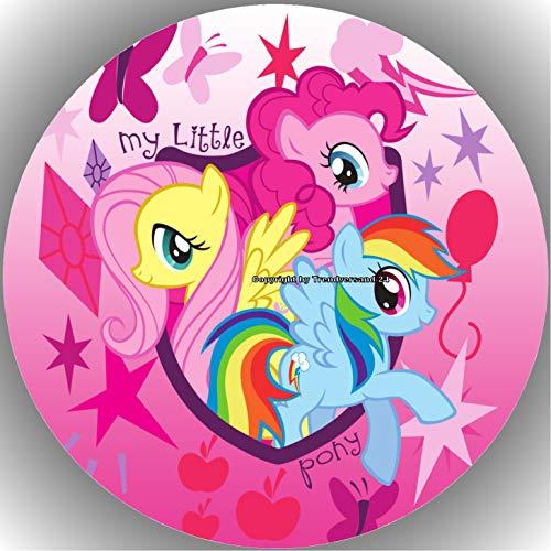 Premium Esspapier Tortenaufleger My Little Pony T5