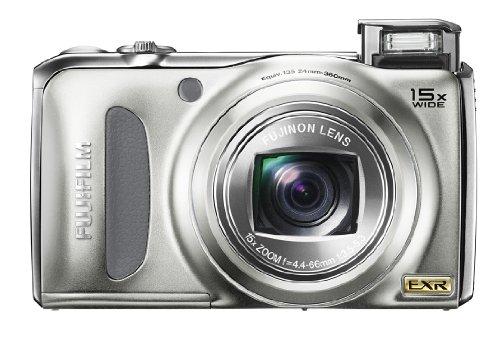 FUJIFILM FinePix デジタルカメラ F300 EXR シルバー F FX-F300EXR S 1200万画素 スーパーCCDハニカムEXR 光学15倍ズーム 広角24mm 3.0型液晶