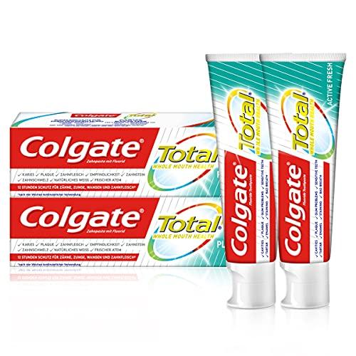 Colgate Total Plus Gezonde Verse Tandpasta Twin Pack 2 x 75 ml