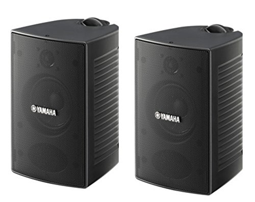 Yamaha High-Performance Natural Surround Sound 2-Way Indoor/Outdoor Weatherproof Home Theater Speakers (Pair)