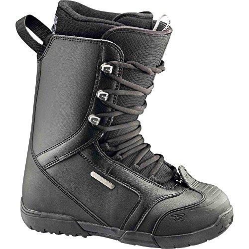 Rossignol–Schuhe Snowboard Excite Lace Schwarz Herren–Herren–Größe 27,5–Schwarz, schwarz