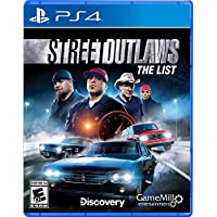 Street Outlaws: The List for PS4 or Xbox One or Nintendo Switch
