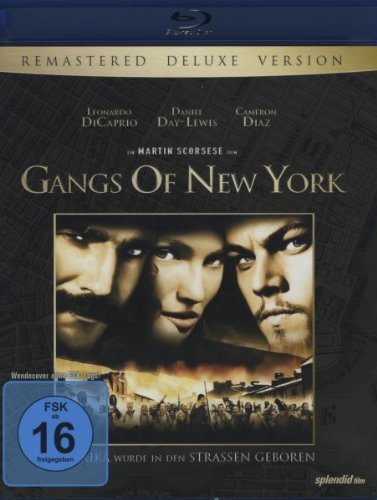 Gangs of New York (Remastered Deluxe Version) [Blu-ray]